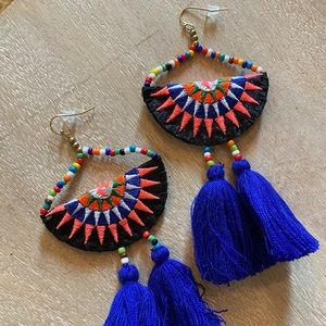 ADORABLE Mexican style earrings from Nordstrom